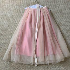 J. CREW   Full-length Pink Tulle Skirt (6)